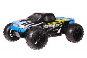 HSP 1zu10 Brushed Brontosaurus RC Monster Truck Blue Sting