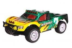 HSP 1zu10 Brushed Destrier RC Short Course Truck Green Hornet