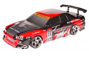 HSP 1zu10 Brushed RC Auto BMW Red Carbon