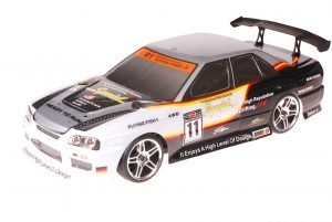 HSP 1zu10 Brushed RC Auto BMW White Carbon