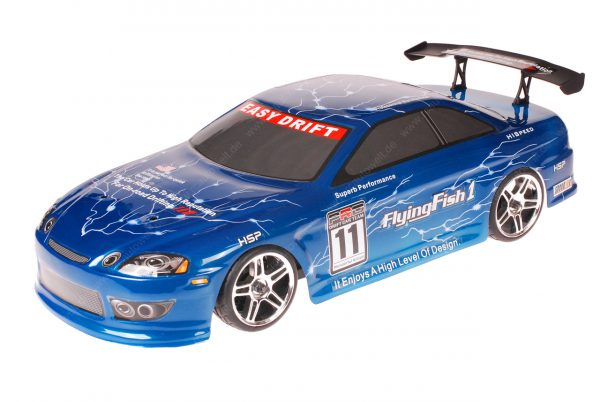 HSP 1zu10 Brushed RC Auto Bad Boy Blue