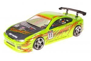 HSP 1zu10 Brushed RC Auto Bad Boy Green Venom