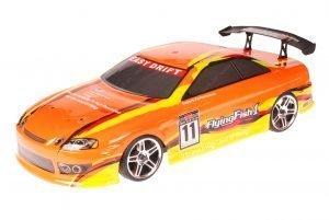 HSP 1zu10 Brushed RC Auto Bad Boy Orange