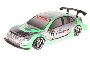 HSP 1zu10 Brushed RC Auto Mercedes Green Carbon