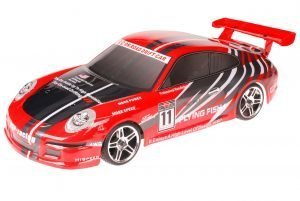 HSP 1zu10 Brushed RC Auto Porsche 10a