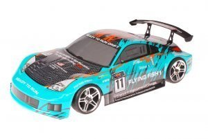 HSP 1zu10 Brushed RC Auto Porsche 911 Carrera Sky Carbon