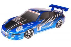 HSP 1zu10 Brushed RC Auto Porsche 9a