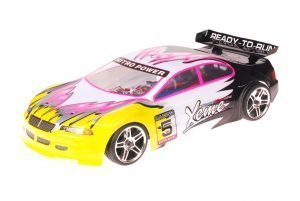 HSP 1zu10 Brushed RC Auto Xeme Black Yellow