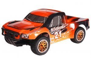 HSP 1zu10 Brushless Destrier PRO RC Short Course Truck Black Orange