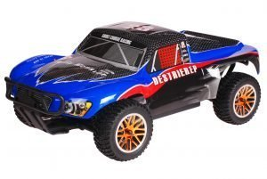 HSP 1zu10 Brushless Destrier PRO RC Short Course Truck Blue Carbon