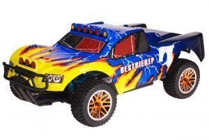 HSP 1zu10 Brushless Destrier PRO RC Short Course Truck Blue Hornet