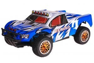 HSP 1zu10 Brushless Destrier PRO RC Short Course Truck Dracul Blue