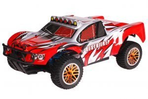 HSP 1zu10 Brushless Destrier PRO RC Short Course Truck Dracul Red