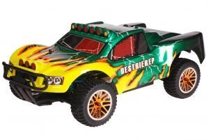 HSP 1zu10 Brushless Destrier PRO RC Short Course Truck Green Hornet