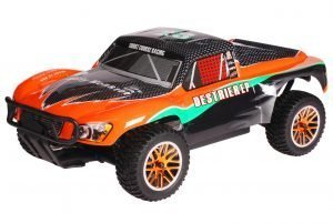 HSP 1zu10 Brushless Destrier PRO RC Short Course Truck Orange Carbon
