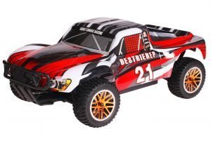 HSP 1zu10 Brushless Destrier PRO RC Short Course Truck Red Sting