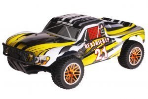 HSP 1zu10 Brushless Destrier PRO RC Short Course Truck Yellow Sting