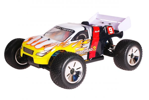 HSP 1zu10 Brushless Eamba PRO RC Truggy Tribeshead 2 Flames