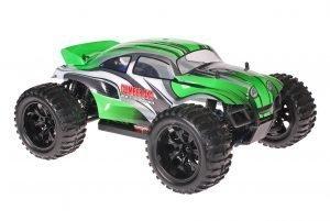Himoto 1zu10 Brushed EMXT-1 RC Monster Truck Baja Beetle Green