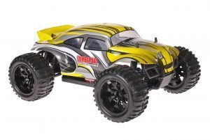 Himoto 1zu10 Brushed EMXT-1 RC Monster Truck Beetle Yellow