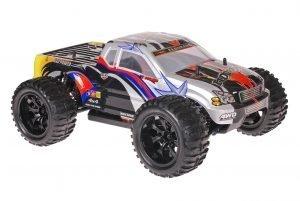 Himoto 1zu10 Brushed EMXT-1 RC Monster Truck Black Star