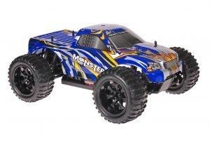 Himoto 1zu10 Brushed EMXT-1 RC Monster Truck Blue Beast