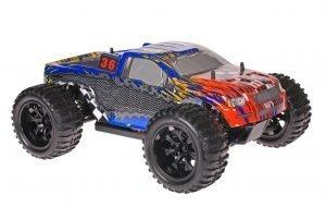 Himoto 1zu10 Brushed EMXT-1 RC Monster Truck Dakar Rally