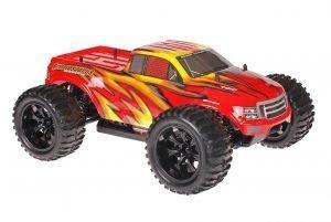 Himoto 1zu10 Brushed EMXT-1 RC Monster Truck Fire Storm