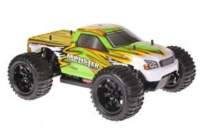 Himoto 1zu10 Brushed EMXT-1 RC Monster Truck Green Venom