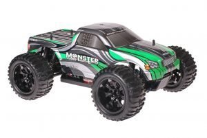 Himoto 1zu10 Brushed EMXT-1 RC Monster Truck Grey Green