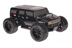 Himoto 1zu10 Brushed EMXT-1 RC Monster Truck Hummer Black