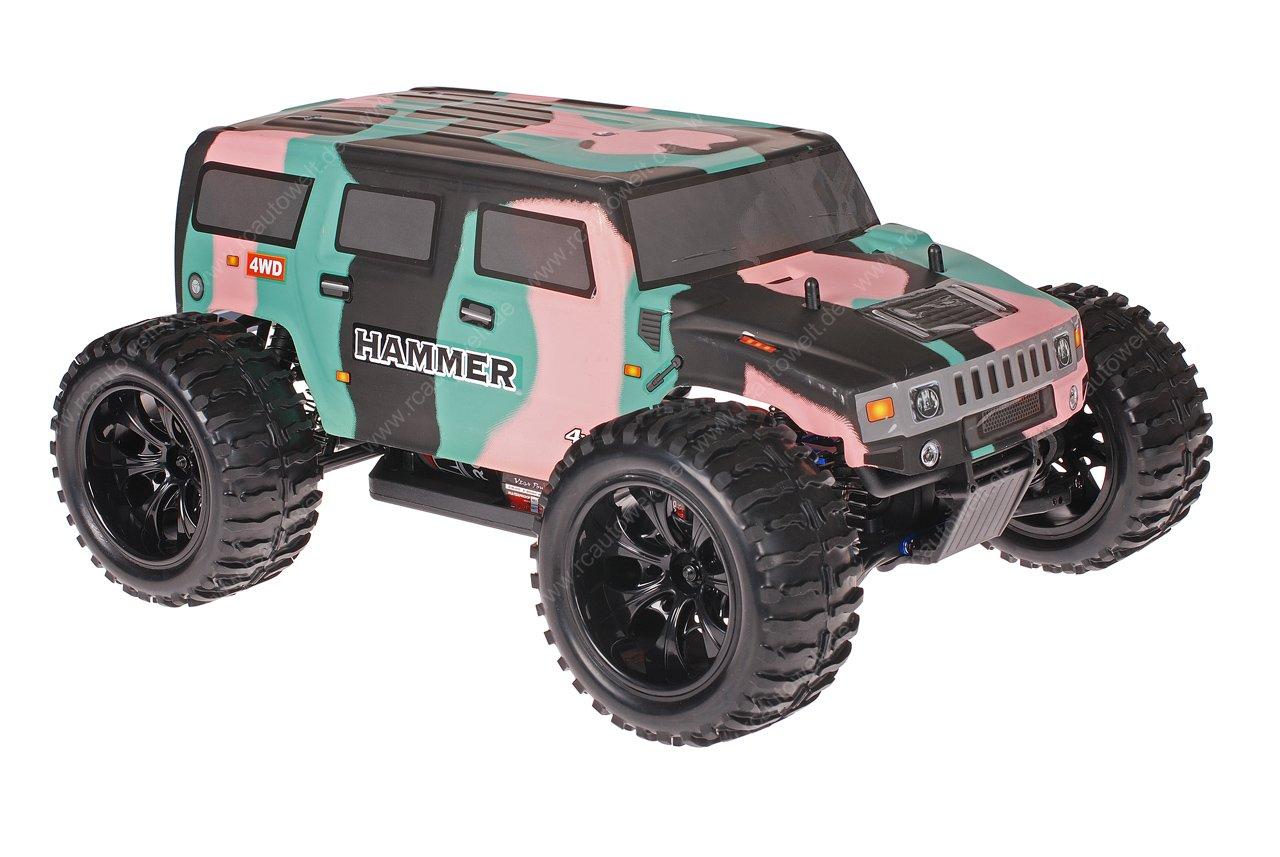 Himoto 133:1330 EMXT-133 RC Monster Truck Hummer Camo | truck hummer
