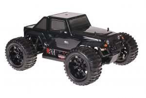 Himoto 1zu10 Brushed EMXT-1 RC Monster Truck Jeep Wrangler Black