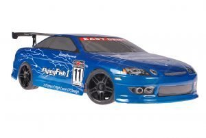 Himoto 1zu10 Brushed Nascada Onroad RC Auto Bad Boy Blue