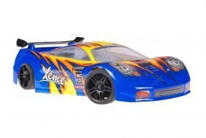Himoto 1zu10 Brushed Nascada Onroad RC Auto Blue Phantom