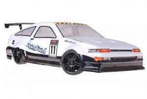 Himoto 1zu10 Brushed Nascada Onroad RC Auto Easy Drift White