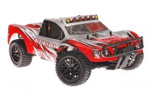 Himoto 1zu10 Brushless RC Short Course Truck Dracul Red