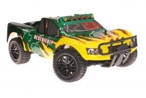 Himoto 1zu10 Brushless RC Short Course Truck Green Hornet