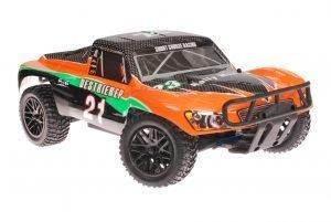 Himoto 1zu10 Brushless RC Short Course Truck Orange Carbon