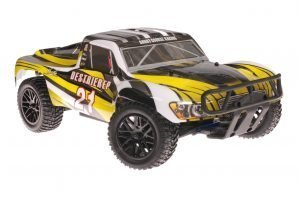 Himoto 1zu10 Brushless RC Short Course Truck Yellow Sting