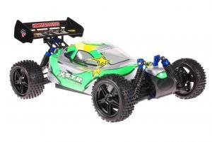 Himoto 1zu10 ZMOTOZ3 Brushless RC Buggy Green Spiral