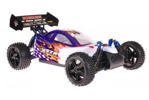 Himoto 1zu10 ZMOTOZ3 Brushless RC Buggy Purple Flames