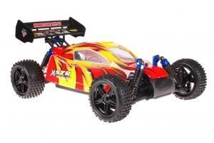 Himoto 1zu10 ZMOTOZ3 Brushless RC Buggy Red Firestorm