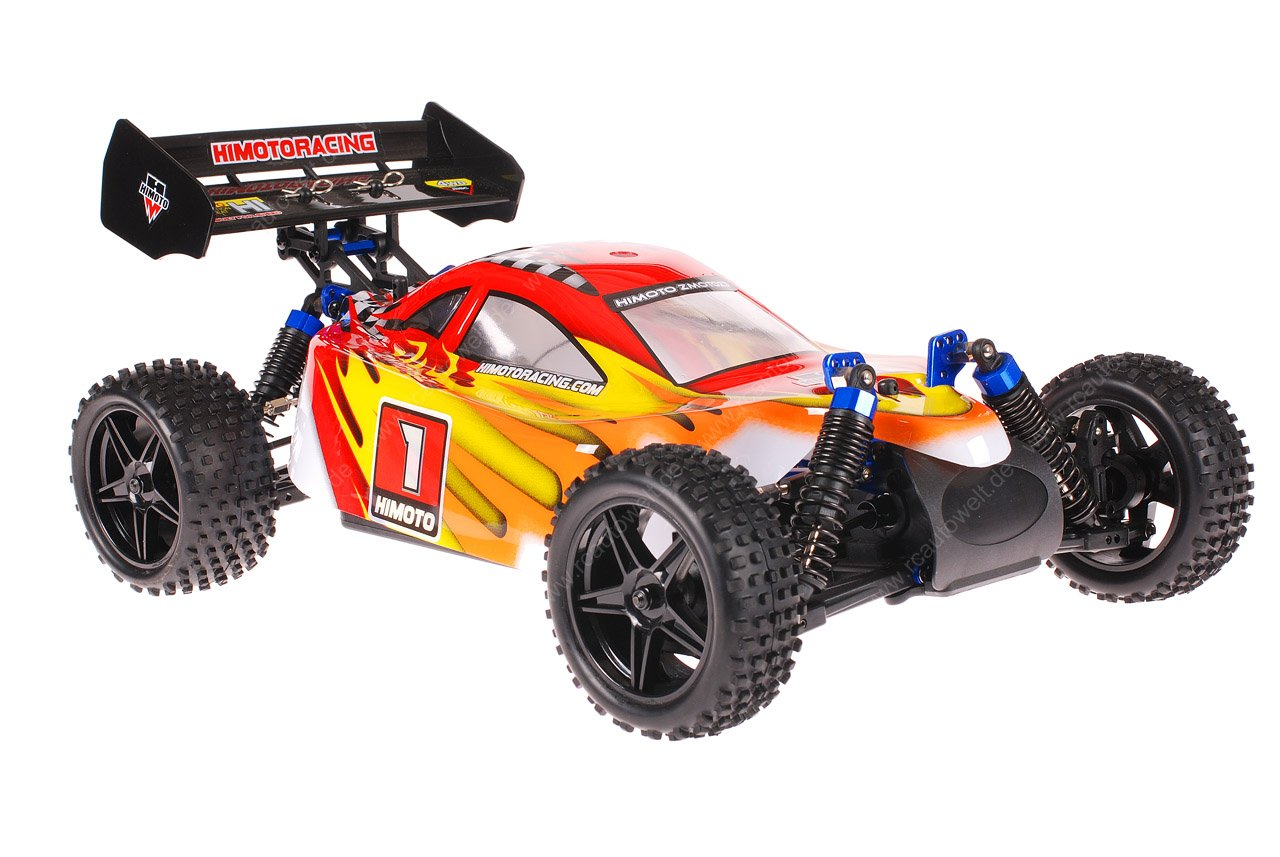 Himoto 1zu10 ZMOTOZ3 Brushless RC Buggy Red Flames