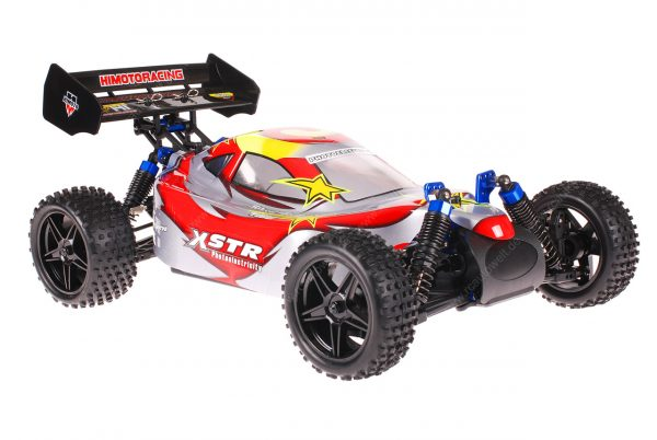 Himoto 1zu10 ZMOTOZ3 Brushless RC Buggy Red Spiral