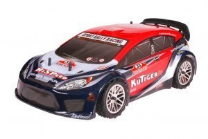 HSP 1zu10 Brushless Kutiger PRO RC Rally Auto Red Carbon