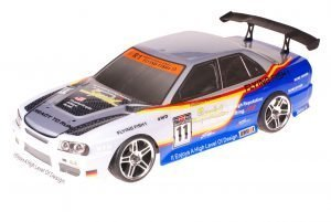 HSP 1zu10 Brushless XSTR PRO RC Auto BMW Blue Carbon