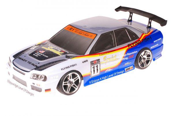 HSP 1zu10 Brushless XSTR PRO RC Auto BMW Blue Carbon