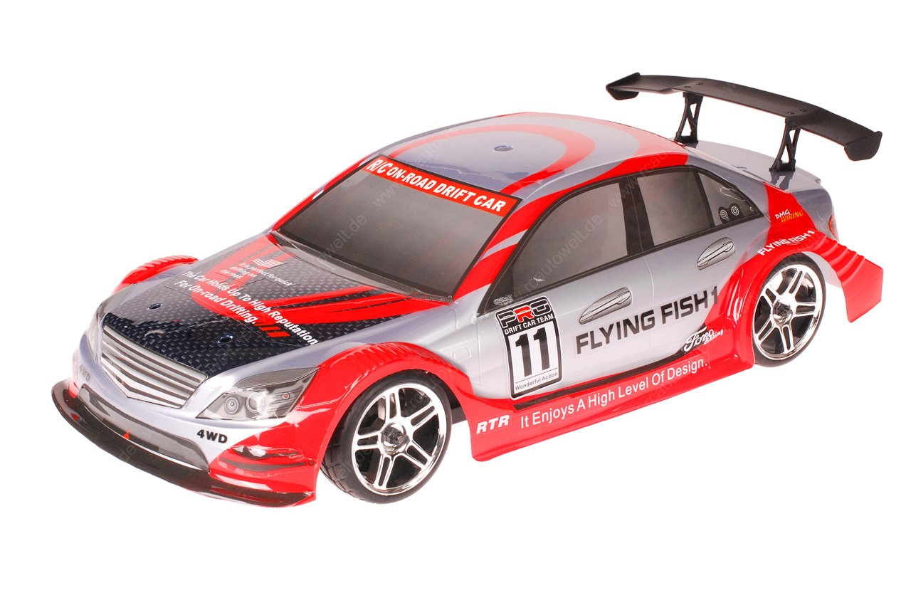 HSP 1zu10 Brushless XSTR PRO RC Auto Mercedes Red Carbon