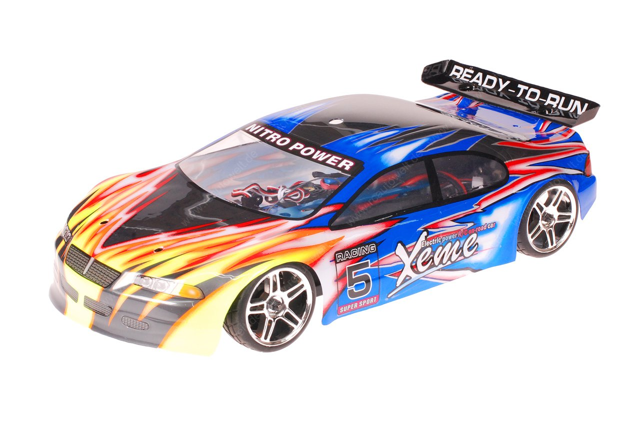 HSP 1zu10 Brushless XSTR PRO RC Auto Xeme Pink Flames